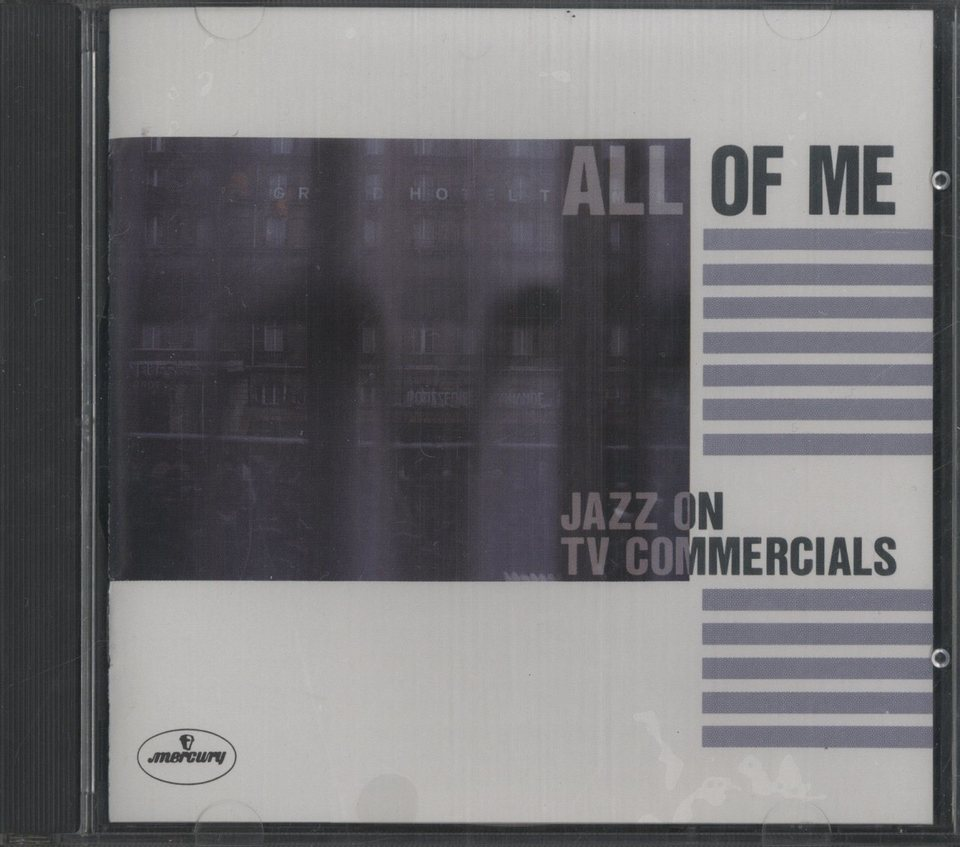 ALL OF ME 〜JAZZ ON TVCOMMERCIALS V.A. 画像