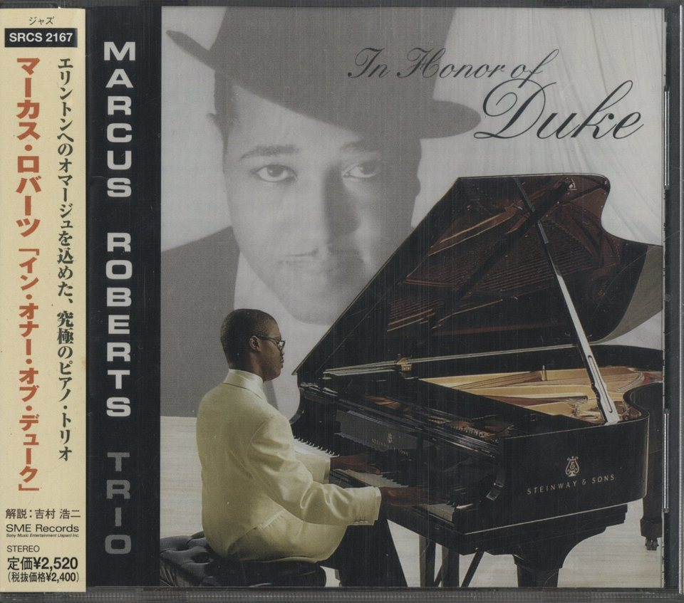 THE HONOR OF DUKE/MARCUS ROBERTS TRIO MARCUS ROBERTS 画像