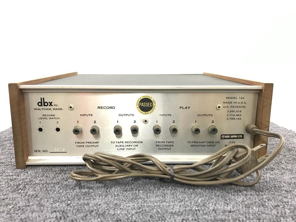 MODEL 122 dbx 画像
