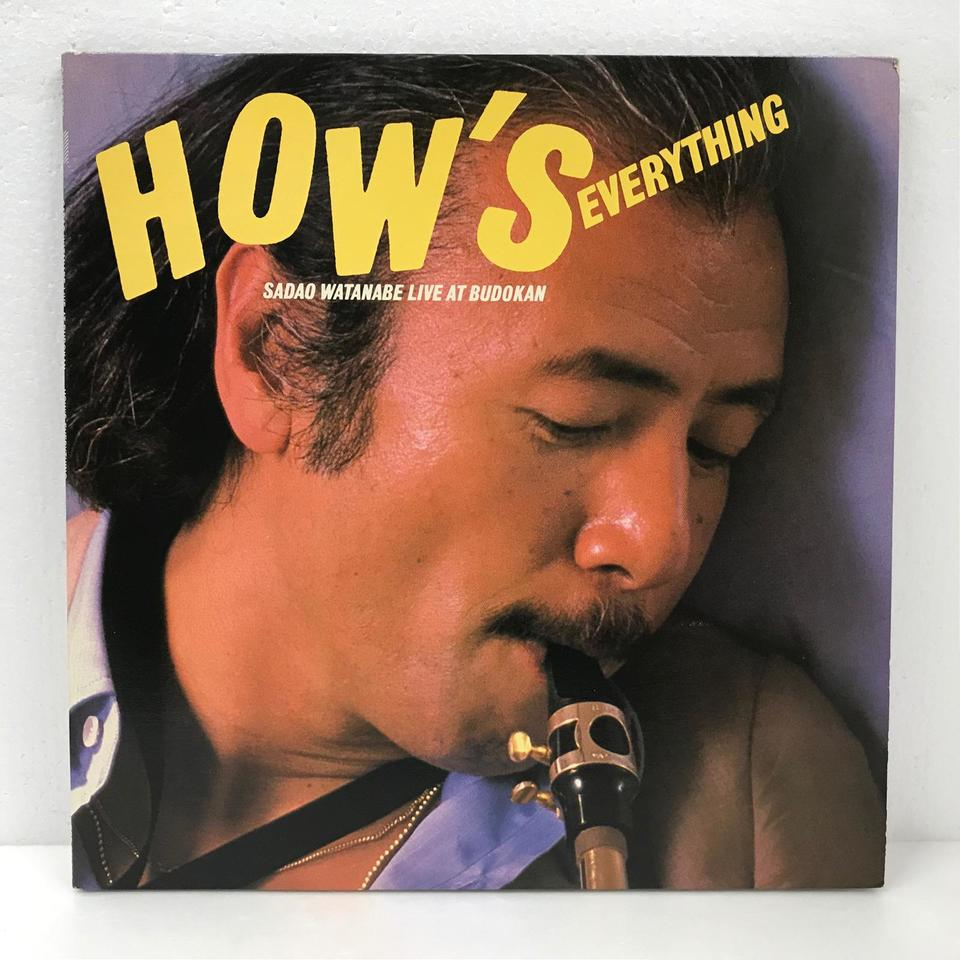 HOW'S EVERYTHING/SADAO WATANABE LIVE AT BUDOKAN 渡辺貞夫 画像