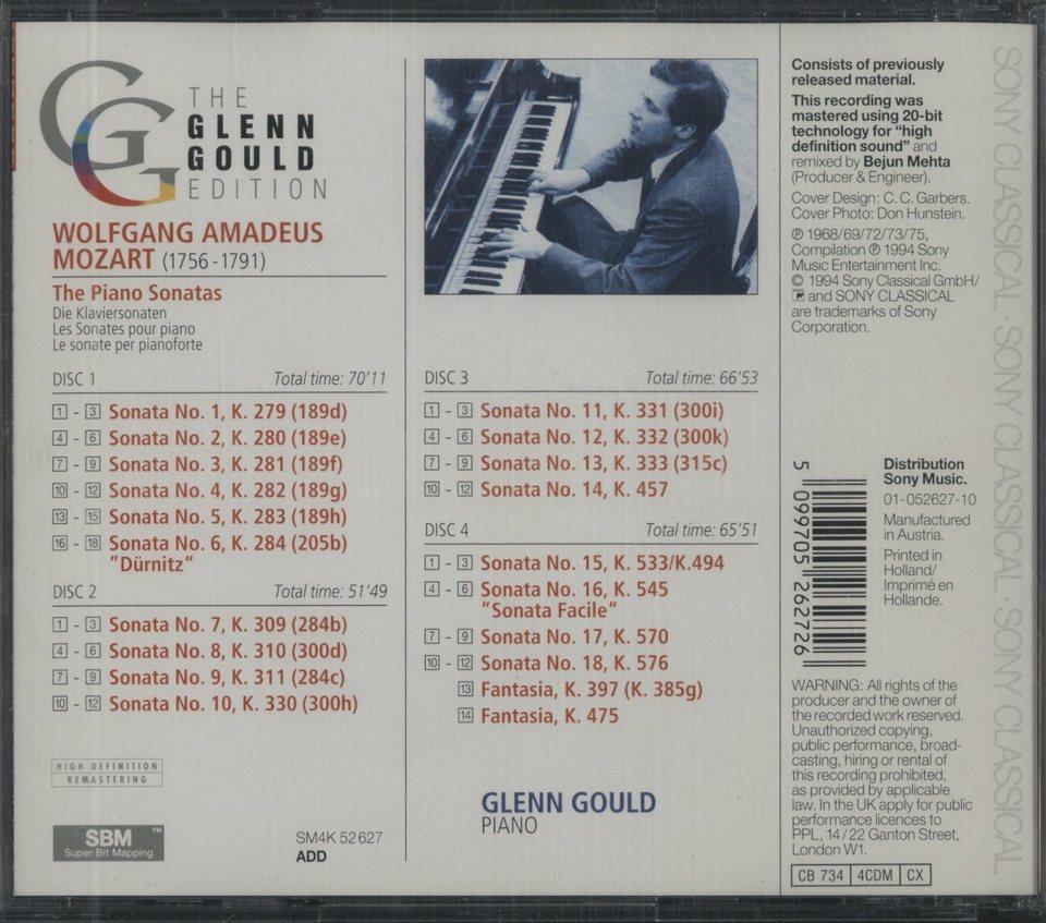 モーツァルト:ピアノ・ソナタ全集 モーツァルト 画像