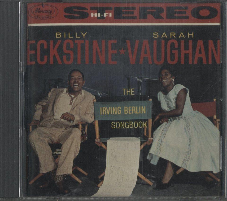 THE IRVING BERLIN SONGBOOK/SARAH VAUGHAN & BILLY ECKSTINE SARAH VAUGHAN/BILLY ECKSTINE 画像