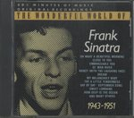 THE WONDERFUL WORLD OF FRANK SINATRA - 1943-1951