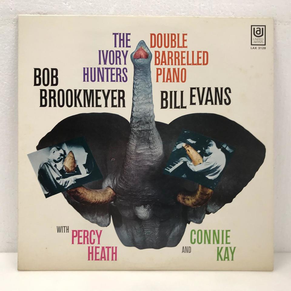 THE IVORY HUNTERS/BOB BROOKMEYER & BILL EVANS BOB BROOKMEYER/BILL EVANS 画像