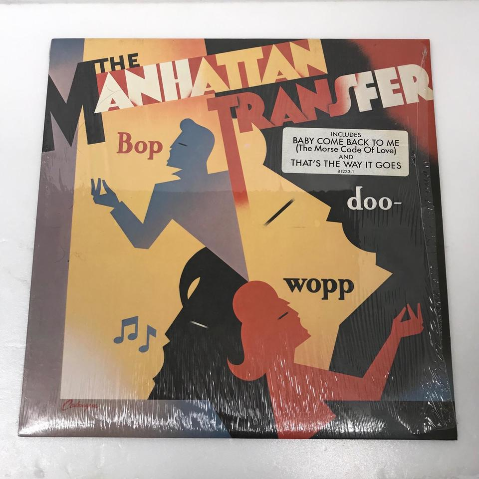 BOP DOO-WOPP/THE MANHATTAN TRANSFER THE MANHATTAN TRANSFER 画像