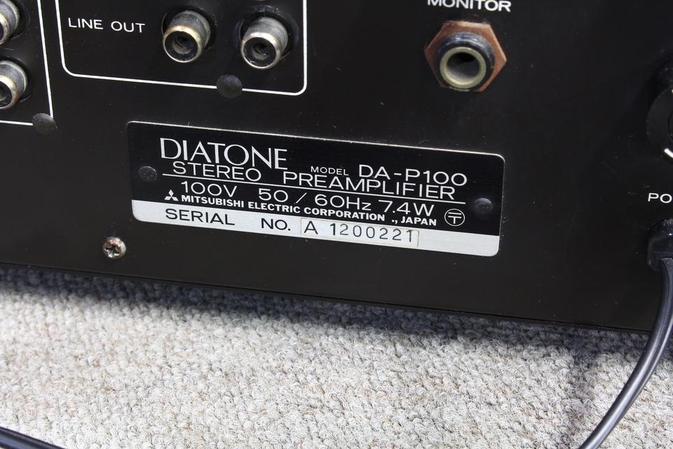 DA-P100 DIATONE 画像