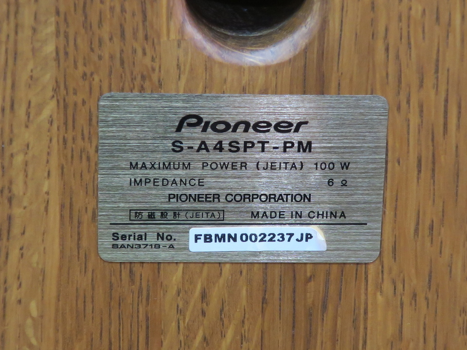 S-A4SPT-PM Pioneer 画像