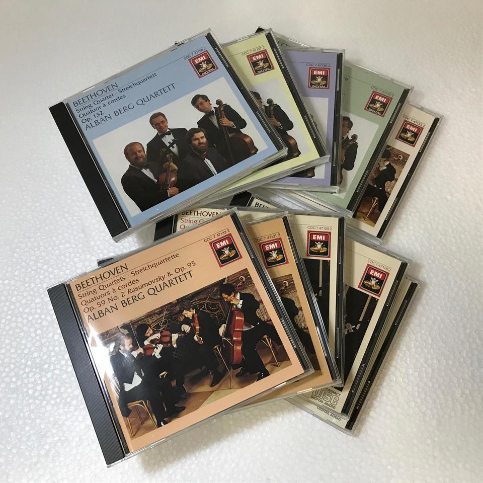 ベートーヴェン:弦楽四重奏曲全集 ベートーヴェン 画像