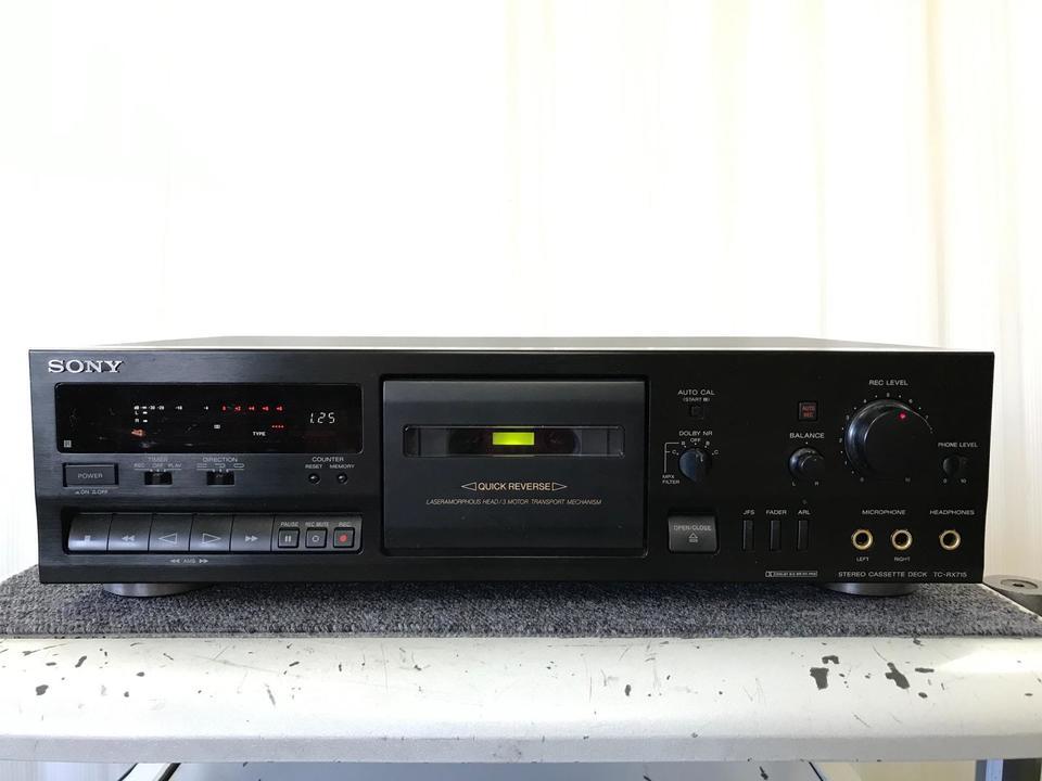 TC-RX715 SONY 画像