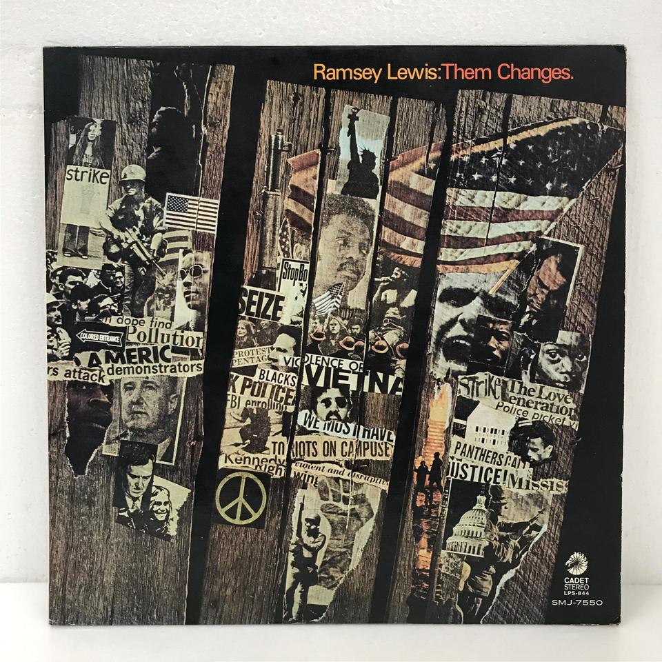THEM CHANGES/RAMSEY LEWIS RAMSEY LEWIS 画像