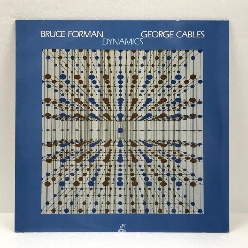 DYNAMICS/BRUCE FORMAN AND GEORGE CABLES BRUCE FORMAN/GEORGE CABLES 画像
