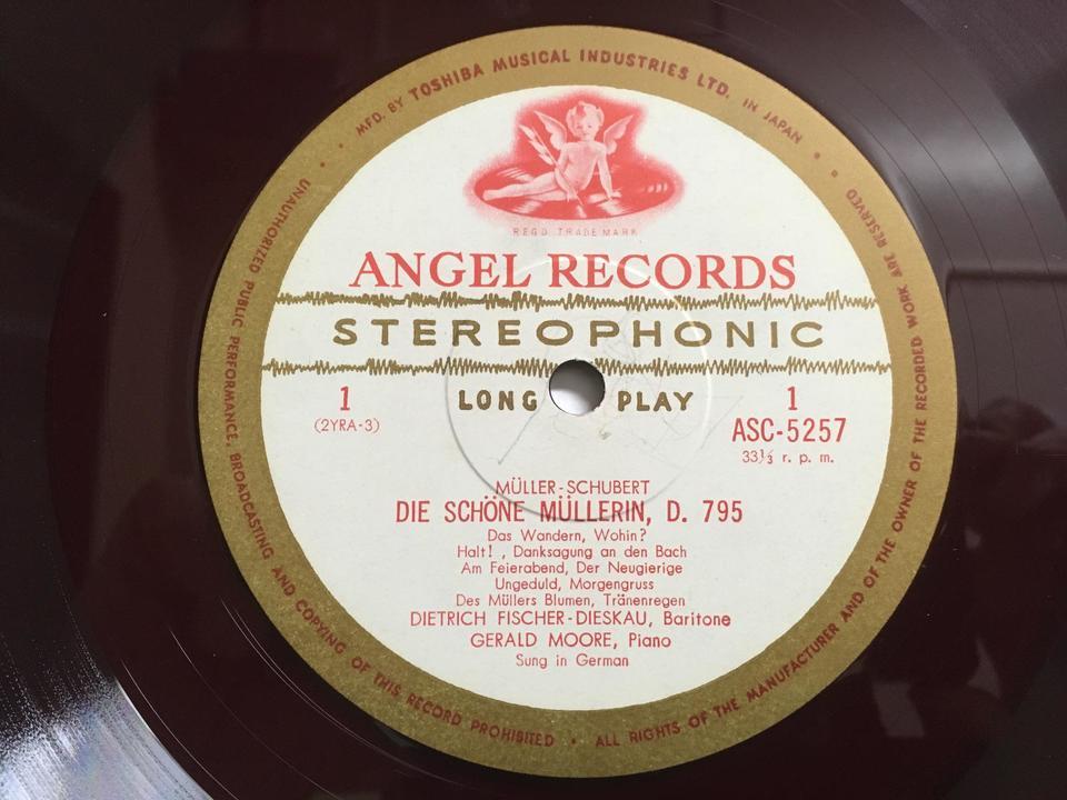ANGELレーベルの名歌手(赤盤・ペラジャケ)5枚セット  画像