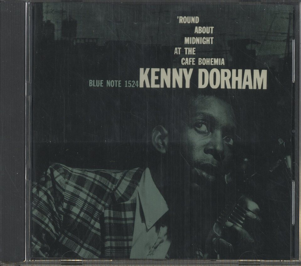'ROUND ABOUT MIDNIGHT AT THE CAFE BOHEMIA/KENNY DORHAM KENNY DORHAM 画像