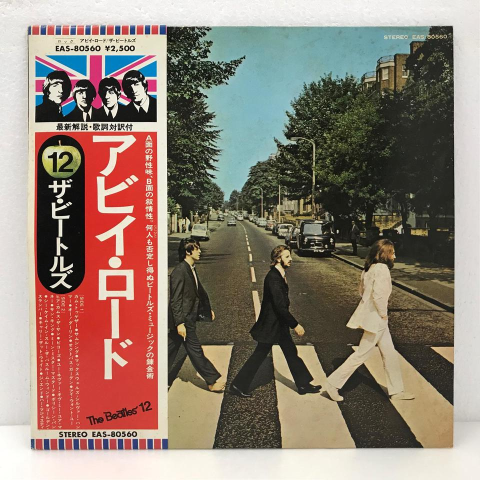 ABBEY ROAD/THE BEATLES THE BEATLES 画像