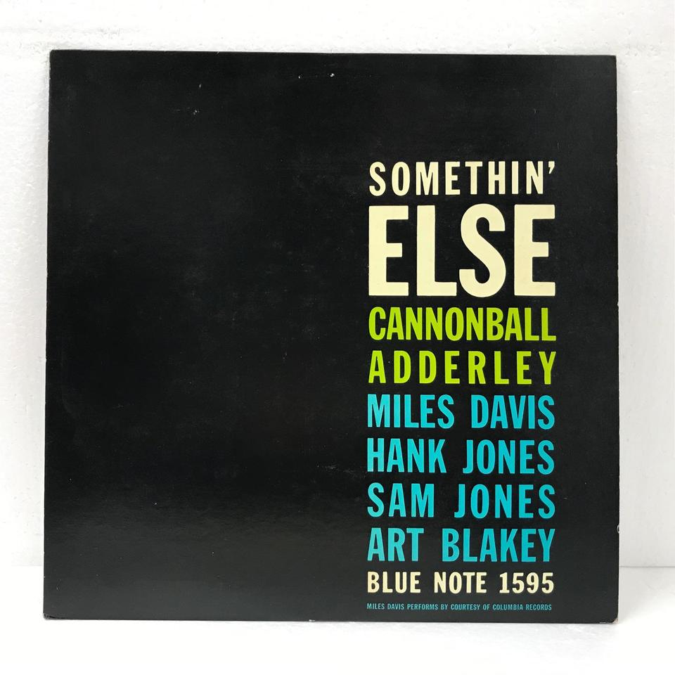 SOMETHIN' ELSE/CANNONBALL ADDERLEY  CANNONBALL ADDERLEY 画像