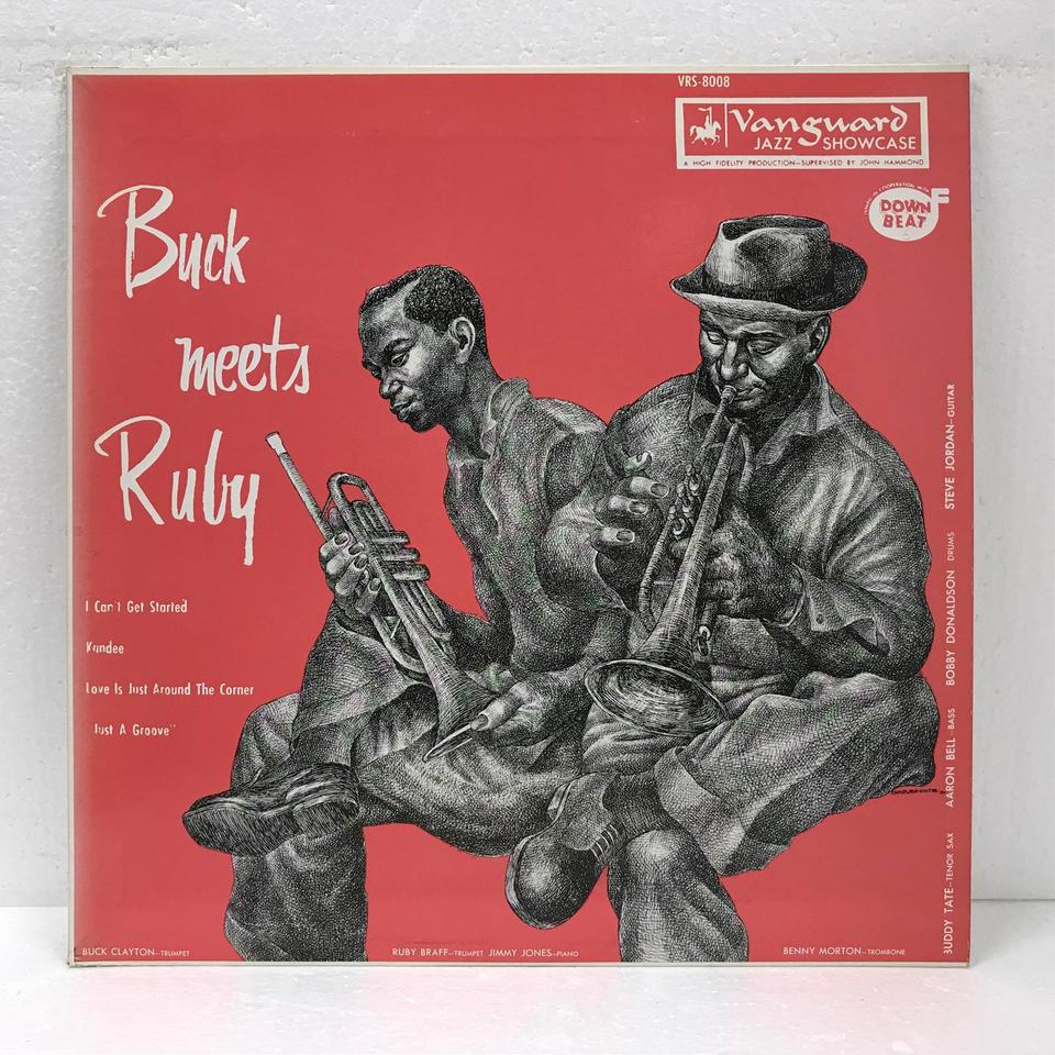 BUCK MEETS RUBY/BUCK CLAYTON & RUBY BRAFF BUCK CLAYTON/RUBY BRAFF 画像