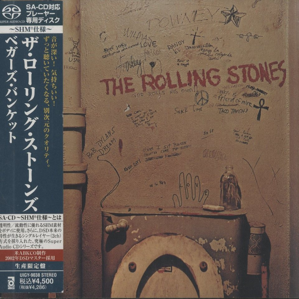 BEGGARS BANQUET/THE ROLLING STONES THE ROLLING STONES 画像