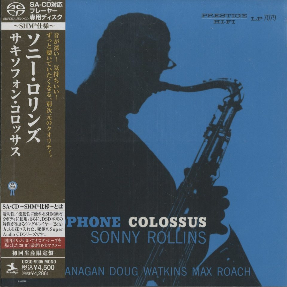 SAXOPHONE COLOSSUS/SONNY ROLLINS SONNY ROLLINS 画像