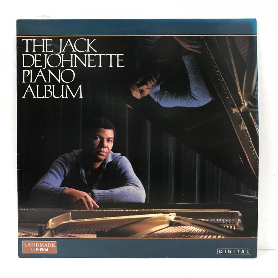 THE JACK DEJOHNETTE PIANO ALBUM JACK DEJOHNETTE 画像
