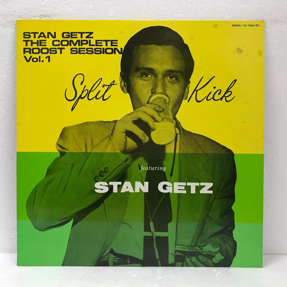 THE COMPLETE ROOST SESSION VOLUME 1/STAN GETZ STAN GETZ 画像
