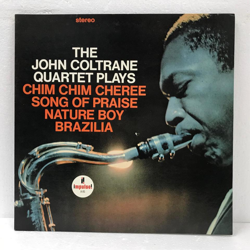 THE JOHN COLTRANE QUARTET PLAYS JOHN COLTRANE 画像