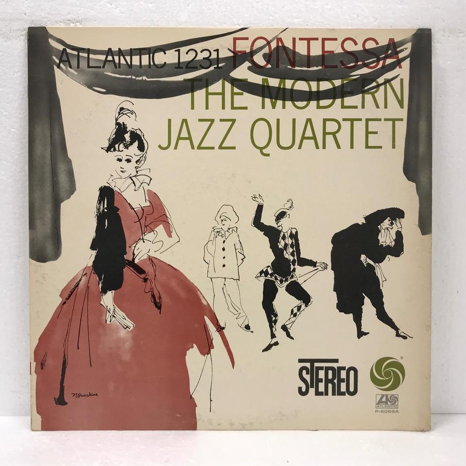 FONTESSA/MJQ THE MODERN JAZZ QUARTET 画像