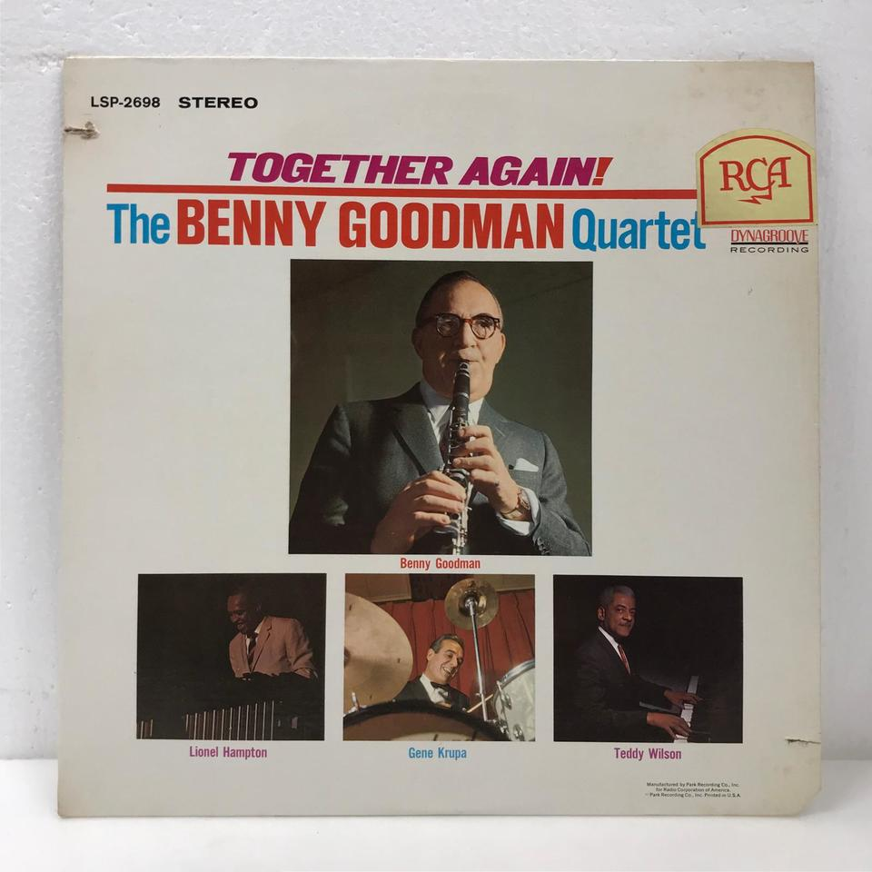 TOGETHER AGAIN !/BENNY GOODMAN BENNY GOODMAN  画像