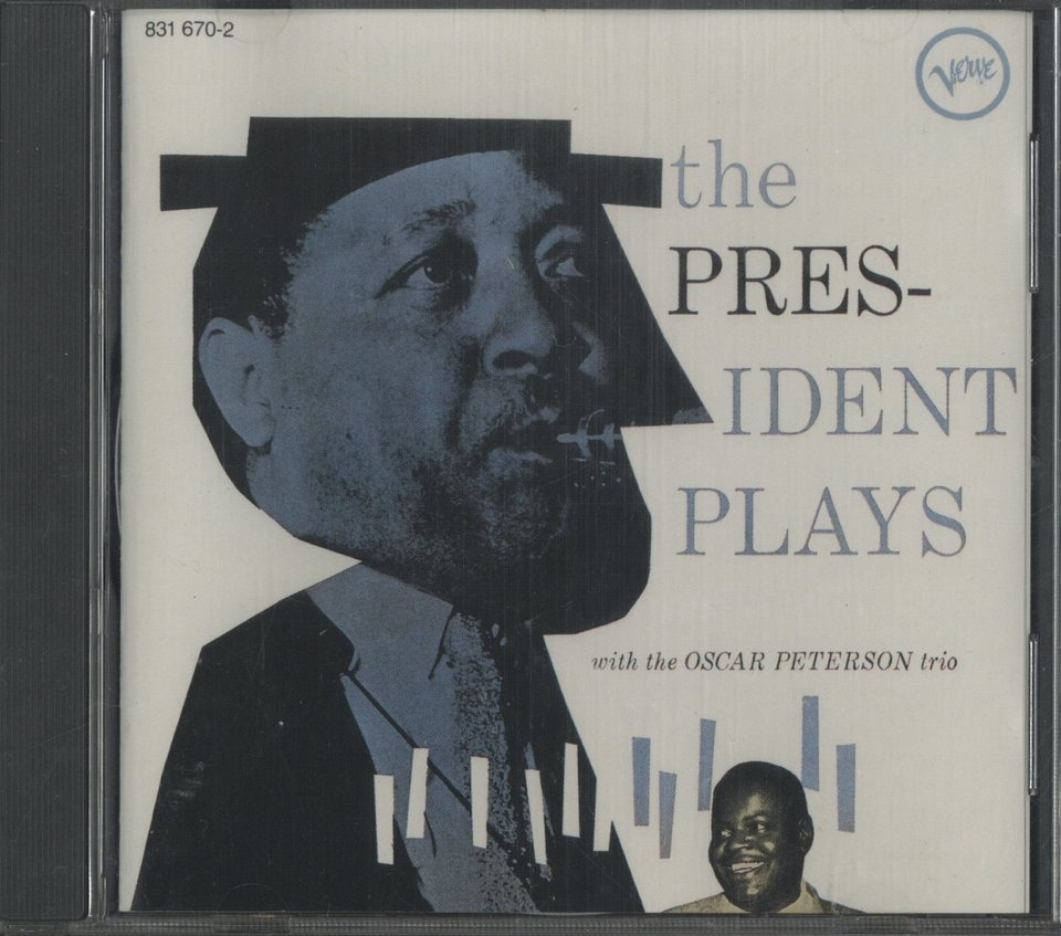 THE PRESIDENT PLAYS WITH THE OSCAR PETERSON/LESTER YOUNG LESTER YOUNG 画像