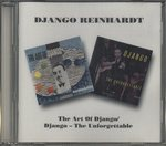 THE ART OF DJANGO ・ DJANGO - THE UNFORGETTABLE/DJANGO REINHARDT
