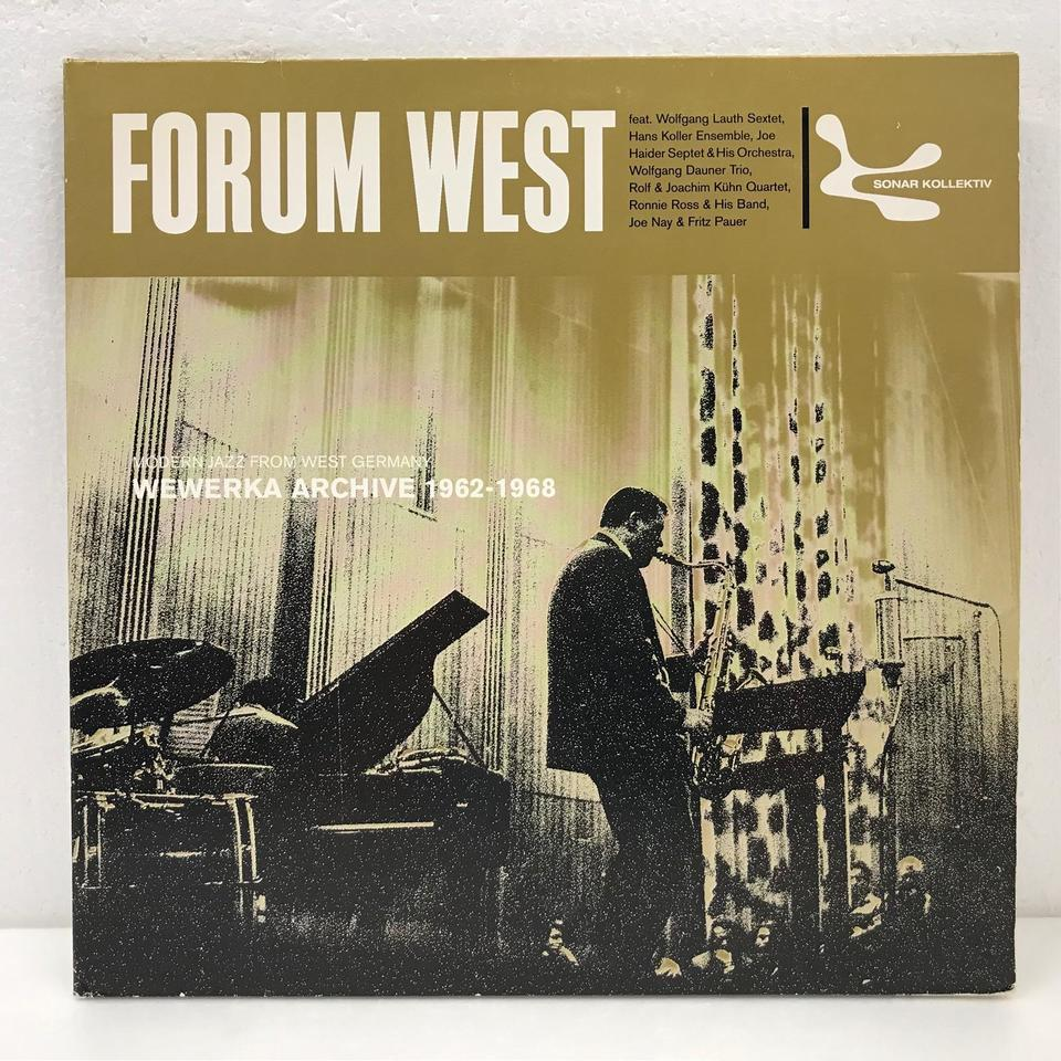 FORUM WEST MODERN JAZZ FROM WEST GERMANY 1962-1968 V.A 画像