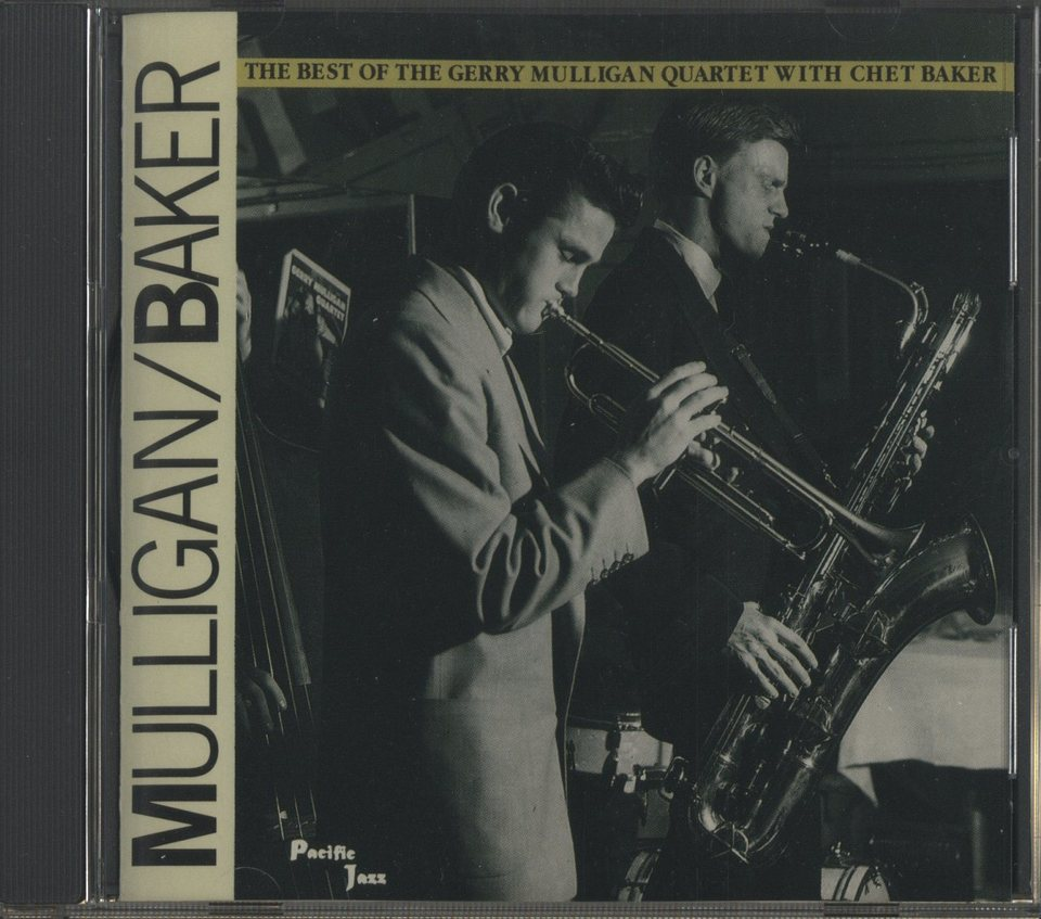 THE BEST OF THE GERRY MULLIGAN QUARTET WITH CHET BAKER GERRY MULLIGAN/CHET BAKER 画像
