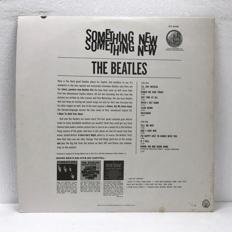 SOMETHING NEW/THE BEATLES THE BEATLES 画像