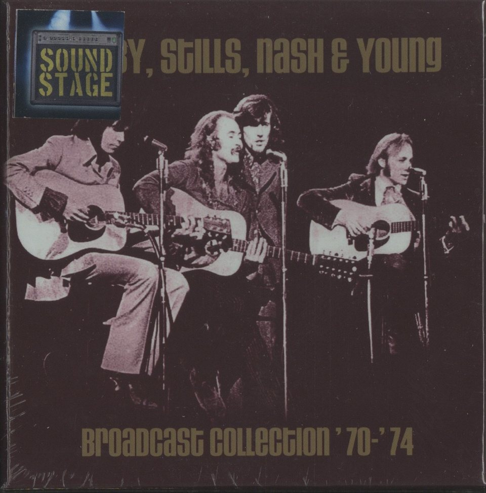 【未開封】BROADCAST COLLECTION '70-'74/CROSBY,STILLS,NASH & YOUNG CROSBY,STILLS,NASH & YOUNG 画像