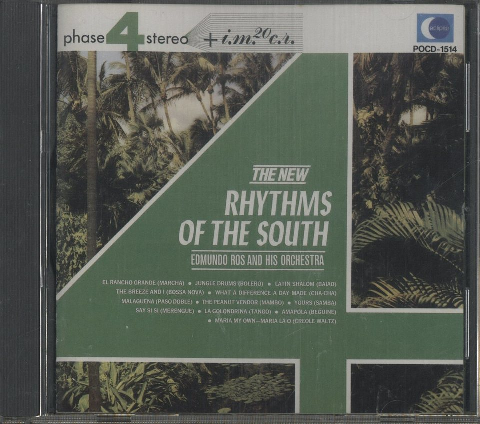 THE NEW RHYTHMS OF THE SOUTH/EDMUNDO ROS AND HIS ORCHESTRA EDMUNDO ROS AND HIS ORCHESTRA 画像