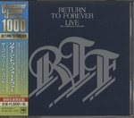 LIVE THE COMPLETE CONCERT/RETURN TO FOREVER
