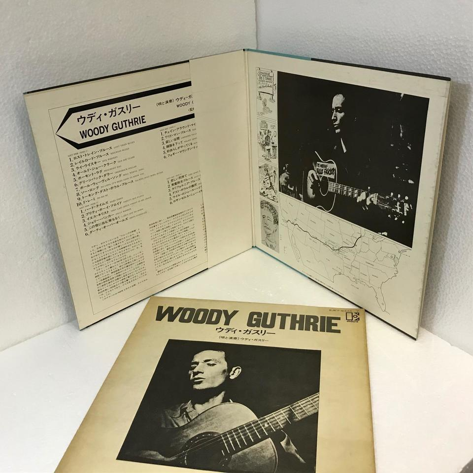 LIBEARY OF CONGRESS RECORDINGS/WOODY GUTHRIE WOODY GUTHRIE 画像