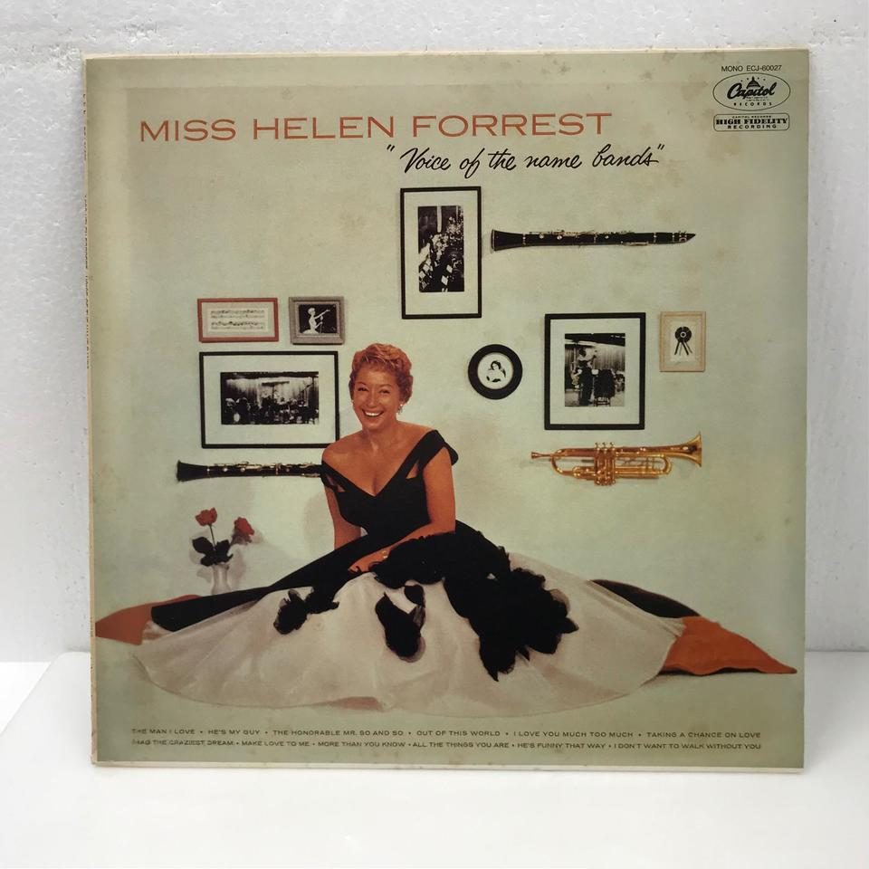 VOICE OF THE NAME BANDS/HELEN FORREST HELEN FORREST 画像