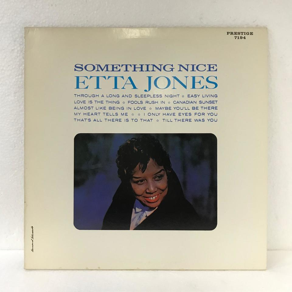 SOMETHING NICE/ETTA JONES ETTA JONES 画像