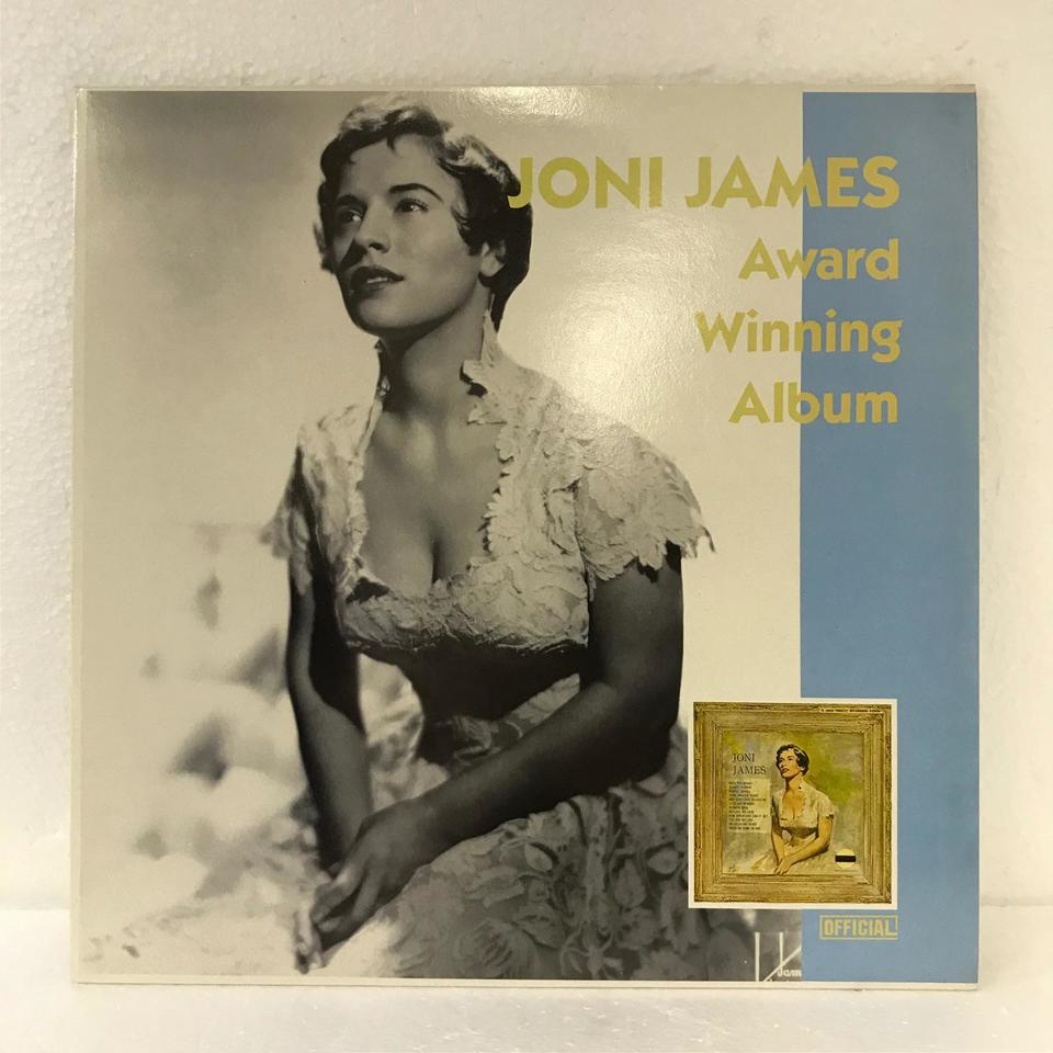 AWARD WINNING ALBUM/JONI JAMES JONI JAMES 画像