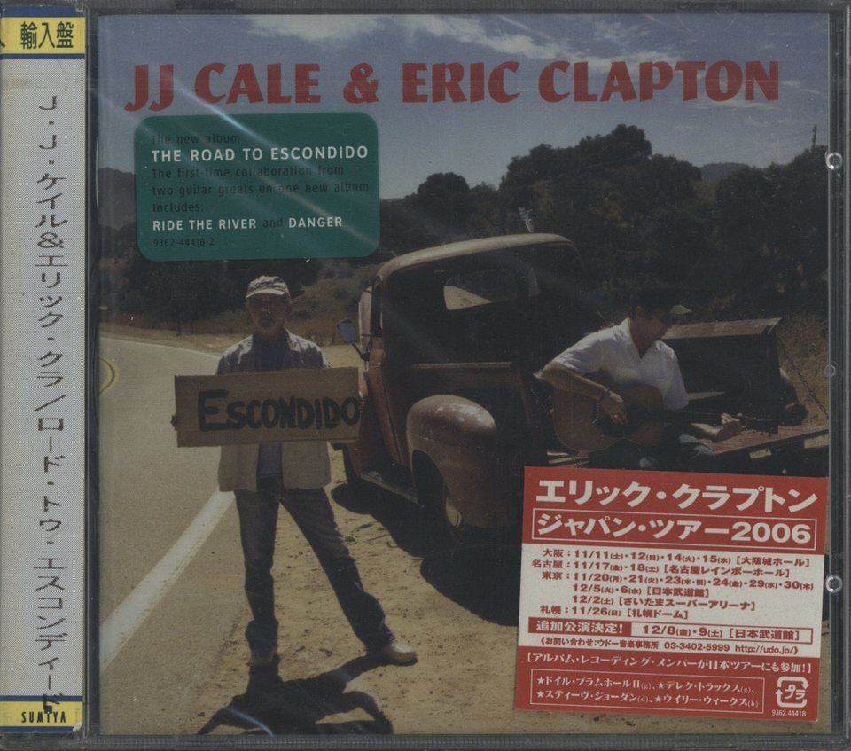 【未開封】THE ROAD TO ESCONDIDO/JJ CALE & ERIC CLAPTON JJ CALE & ERIC CLAPTON 画像