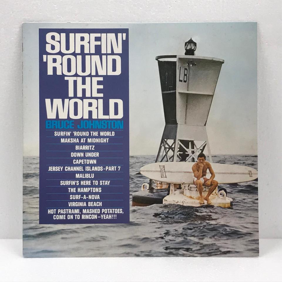 SURFIN' 'ROUND THE WORLD/BRUCE JOHNSTON BRUCE JOHNSTON 画像