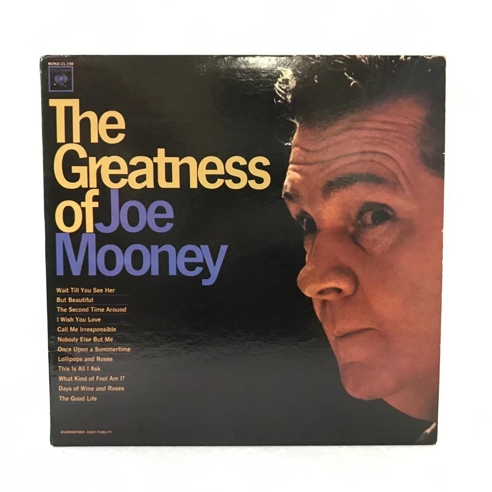 THE GREATNESS OF JOE MOONEY JOE MOONEY 画像