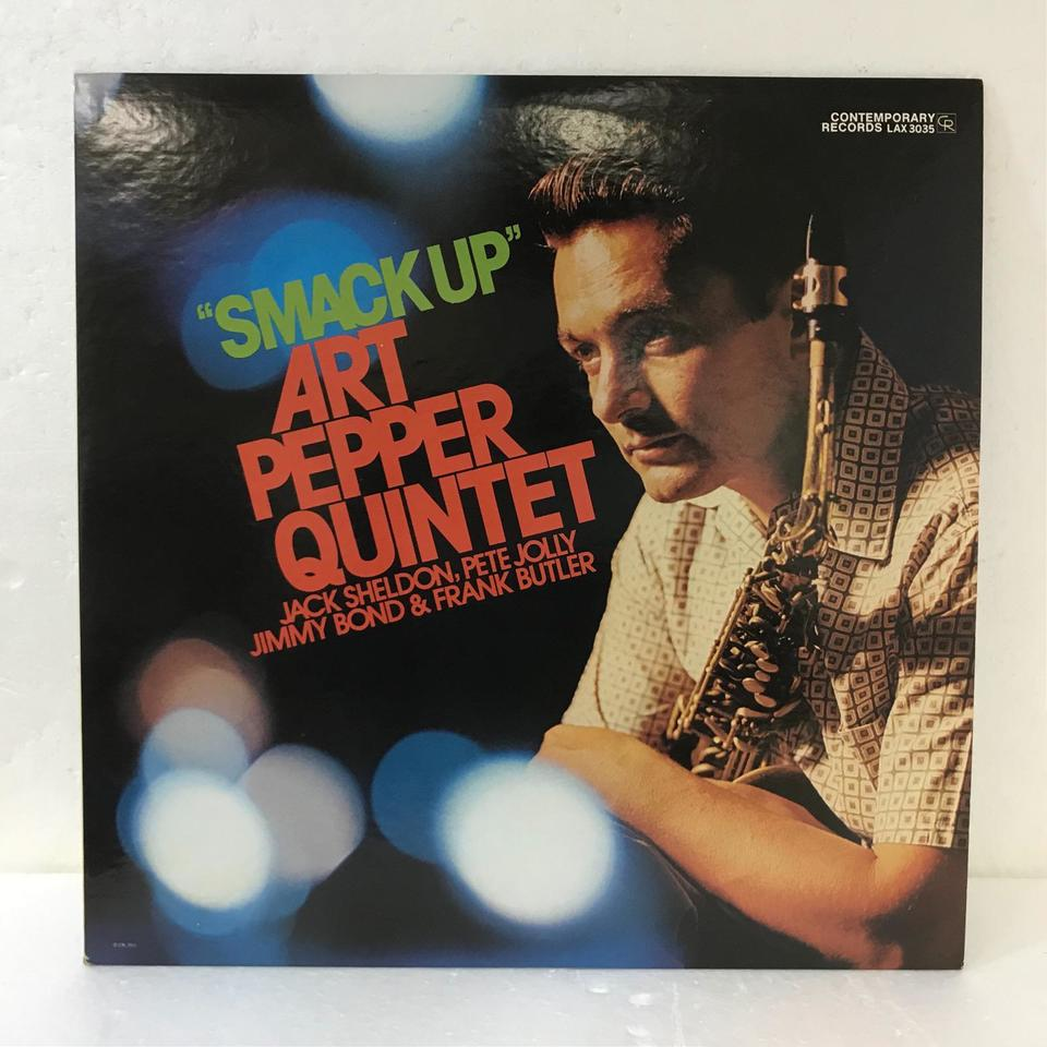 SMACK UP/ART PEPPER ART PEPPER 画像