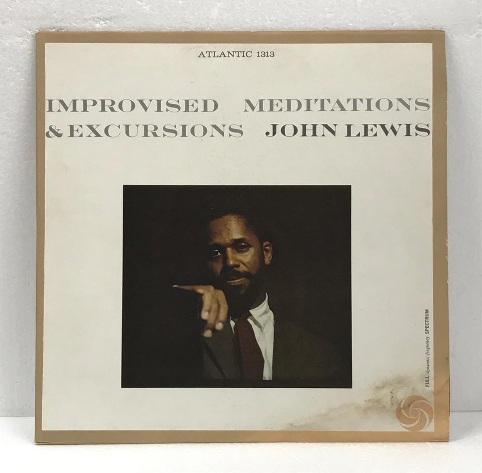 IMPROVISED MEDITATIONS & EXCURSIONS/JOHN LEWIS JOHN LEWIS 画像