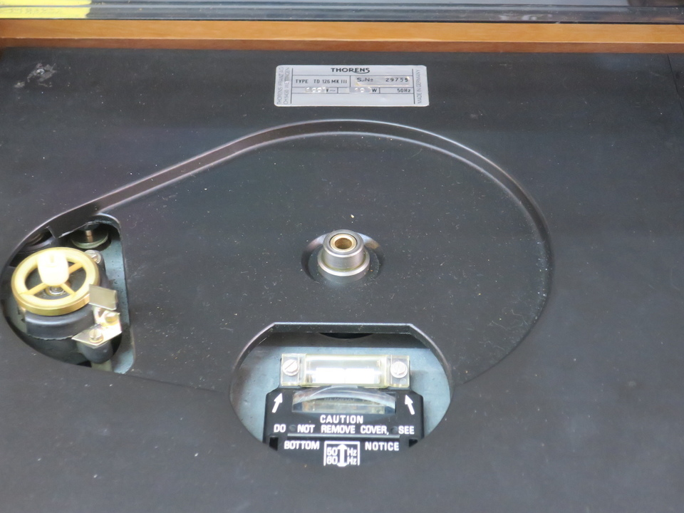 TD-126mk3+3010R THORENS 画像