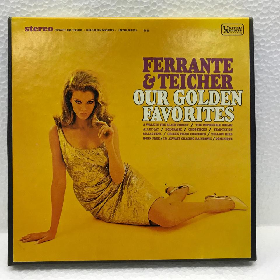 OUR GOLDEN FAVORITES/FERRANTE & TEICHER FERRANTE & TEICHER 画像