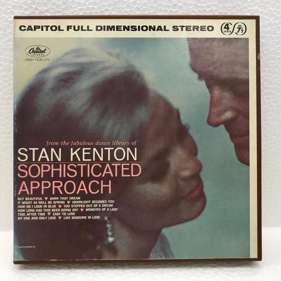 SOPHISTICATED APPROACH/STAN KENTON STAN KENTON 画像