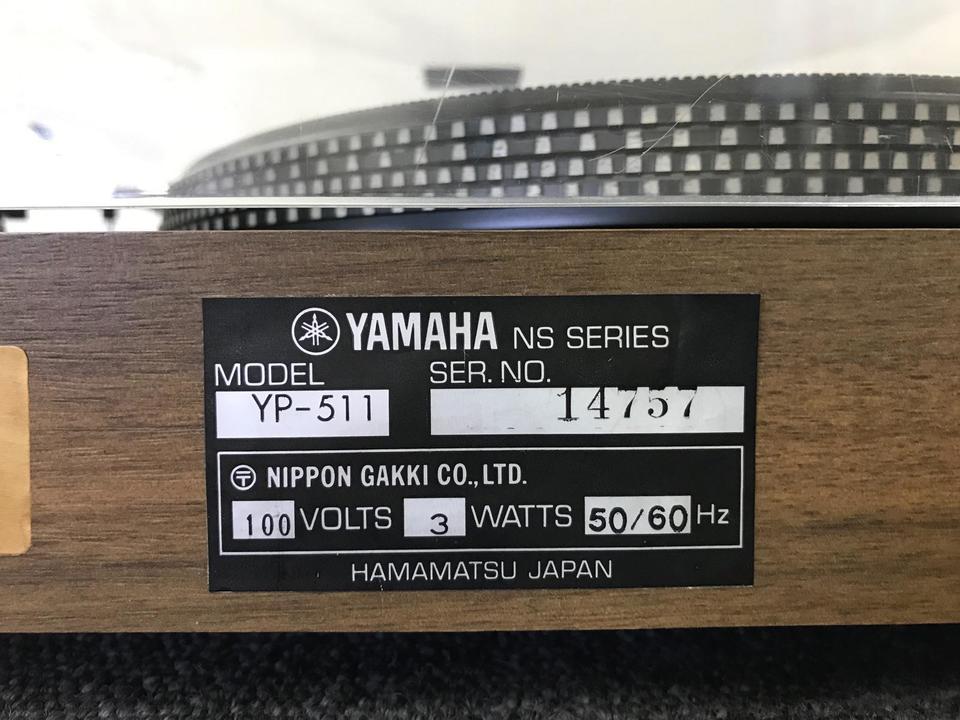 YP-511 YAMAHA 画像