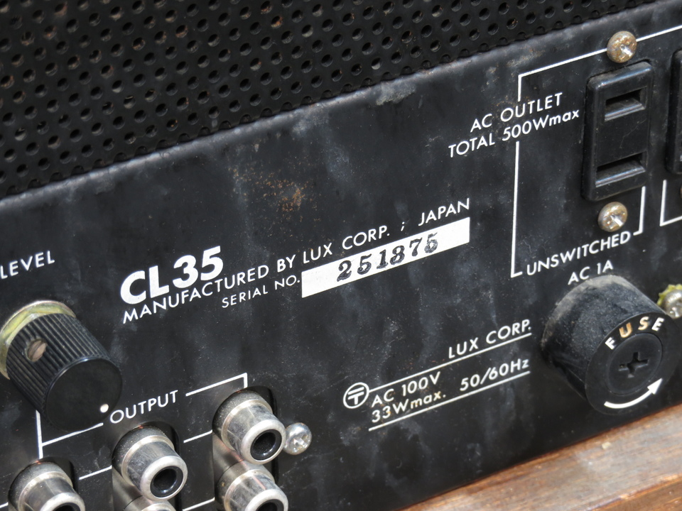 CL-35 LUXMAN 画像
