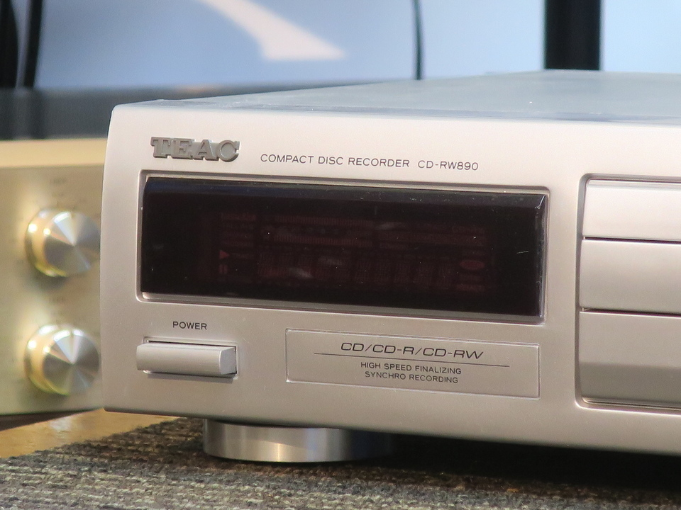 CD-RW890 TEAC 画像